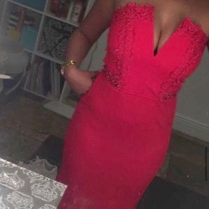 Ruby Red Prom Dress